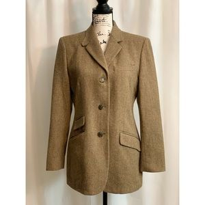 Lauren Wool Jacket  Size 10 pockets and Lined
